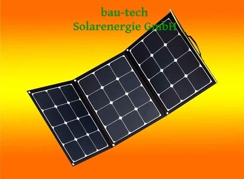 SunFolder 120Watt 12Volt Solartaschen Set für Wohnmobil Garten Freizeit