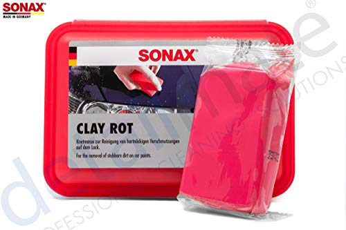 detailmate: Reinigungsknete: Sonax Clay rot 200g - Reinigungsknetmasse scharf
