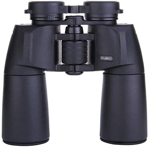 LFERRTYZ Binoculares Excelente Textura Prisma HD Impermeable Poca luz Binocular Gran Ojo Telescopio de Gran Angular Exquisito
