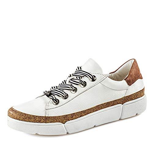 ARA Damen Rom 1214404 Sneaker, Braun (Weiss, Natur/Nuss 09), 39 EU(6 UK)