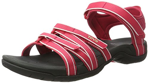 Teva W Tirra, Damen Sport- & Outdoor Sandalen, Pink (Raspberry/Dark Shadow), 37 EU (4 UK)