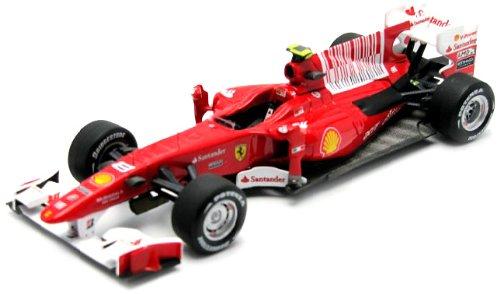Hotwheels - Elite (Mattel) - T6266 - Véhicule Miniature - Ferrari F10 / F1 2010 - GP de Bahrain 2010 - Echelle 1/43