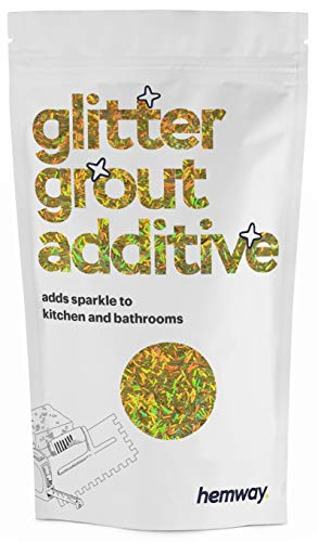 Hemway | Glitter Grout Additive - Gold Holographic Fibre / 100g