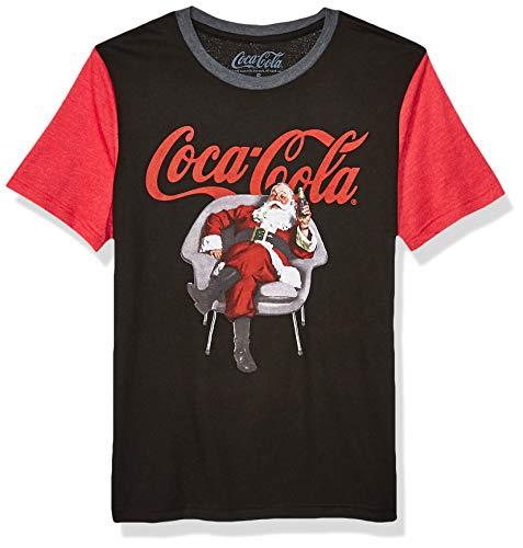 Coca-Cola Ugly Christmas - Camiseta para hombre - Negro - Small