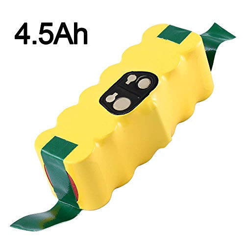 4.5Ah 14.4V Ni-Mh Replacement Battery Compatible with iRobot Roomba R3...