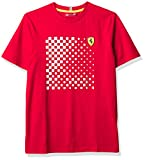 Fuel For Fans Camiseta para Hombre Formula 1 Scuderia Ferrari Team Graphic Camiseta, Rojo, L