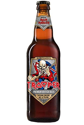 Iron Maiden Trooper Dunkles Bier, 24er Pack (24 x 0,33 l )