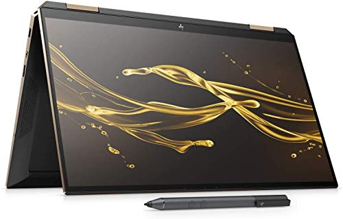 "HP Spectre x360 13-aw0115na FullHD IPS 13.3"" Convertible Laptop 2020 Edition i7 1065G7, 8GB DDR4, 1TB SSD, Wireless 11ax & Bluetooth 5, Windows 10 Pro - UK Keyboard Layout – Plain Box (Renewed)"