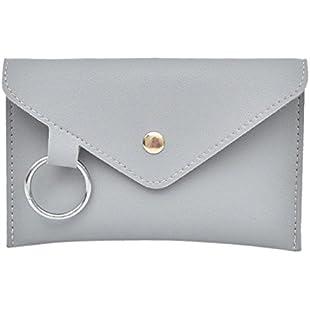 Yuutimko Ladies Fashion Leather Bumbag Travel Chest Bag Waist Bag Adjustable Belt Hip Cross Body Bag Messenger Shoulder Bag (Gray):Savelaguasia