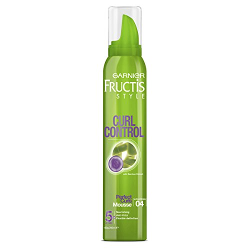 Garnier Fructis Style Curl Control Mousse For Defined Curls