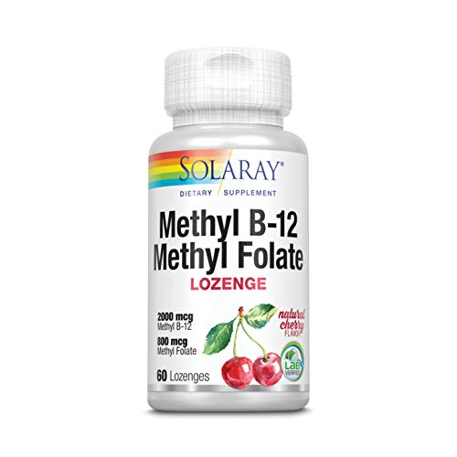 Solaray Methyl B-12 & Methyl Folate | 60 Count