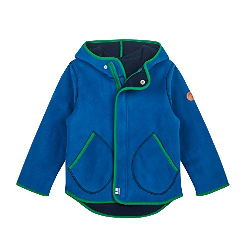 Finkid Jumppa fleece kinderjas + rits in binnenjas