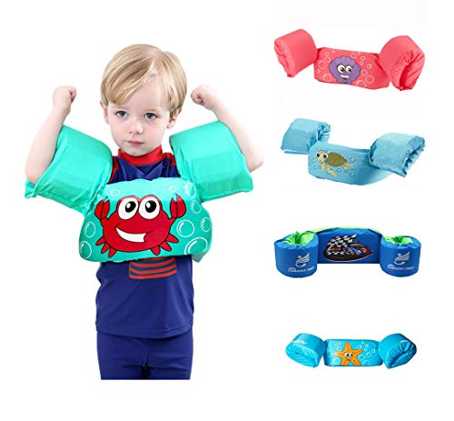 Check Out This Summer Hot Baby Boys Girls Life Vest Toddler Cartoon Float Swimming Ring Pool Jacket ...