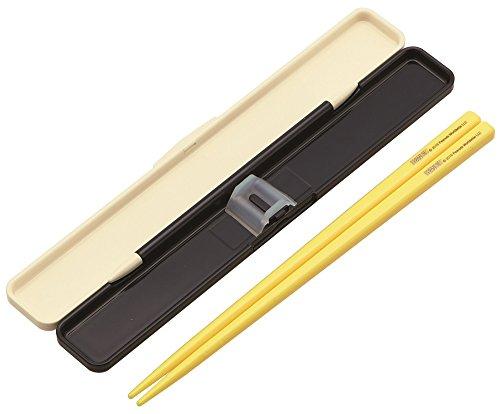 『スケーター 箸 箸箱 セット 18cm スヌーピー ランチタイム 日本製 ABC3』の2枚目の画像