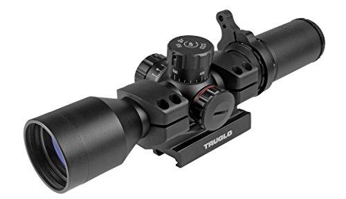 TRUGLO TRU-BRITE 30 Series Illuminated Tactical Rifle Scope - Includes Scope Mount, 3-9 x 42mm, Black