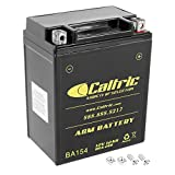 Caltric compatible with Agm Battery Kawasaki Kl650A Kl650B Kl650E Klr650 1987-2015