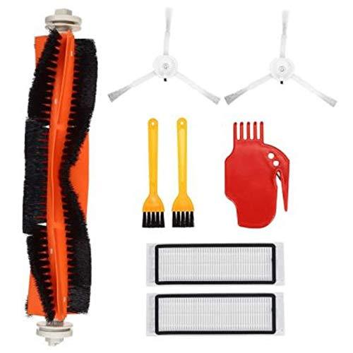SODIAL Convient pour Robot S5 S6 S50 E25 E20 PièCes D'Aspirateur Brosse Principale Nettoyage Roue Filtre