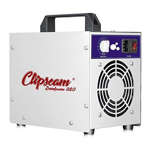 Generador de Ozono 5gr/h para tratar superficies de hasta 80 m², elimina Virus, Bacterias, Ácaros, malos olores. 10.000 horas de uso. (5 gr/h)