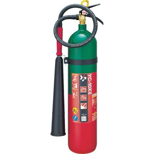 ヤマトプロテック 消火器 10型CO2 (ガス系) YC-10XII リサイクルシール付属