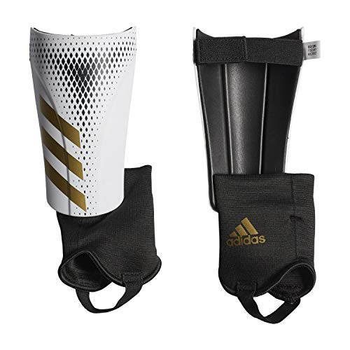 adidas Erwachsene Predator 20 Match Schienbeinschoner, White/Gold met./Black, XL