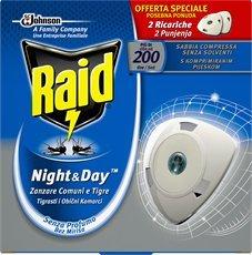 Mata mosquitos eléctrico Raid