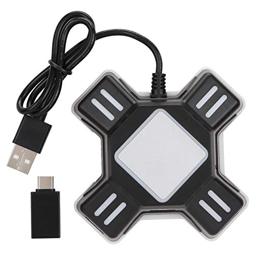 Belika Convertidor Multifuncional y Duradero para Gamepad para P-S4/P-S4 Pro/P-S4 Slim/X-BOXOne/X-BOXOne S/X-BOXOne...