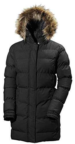 Helly Hansen Damen W Blume Puffy Parka, 990 Black, XL