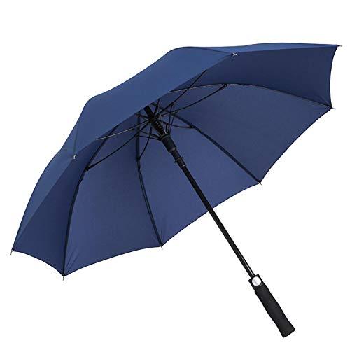 Long-Handled Umbrella,8 Bone Section Carom Cloth Dark Blue Golf,Customizable Logo