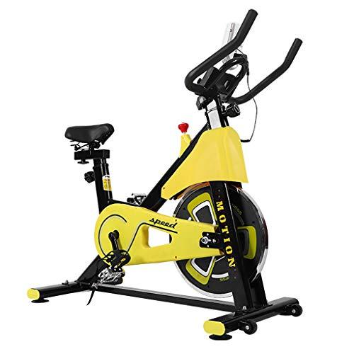 Cubierta Magnética De Control De La Bicicleta Estática, con El Monitor LCD De Spin Bike Cardio Máquinas De 6Kg / 13 Libras del Volante, para El Home Gym Fitness