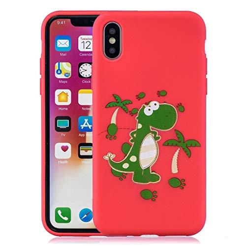 Xyamzhnn Funda telefónica for iPhone XS MAX Protector a Prueba de Choque Cubierta Cobertura Completa Tapa del teléfono de Silicona