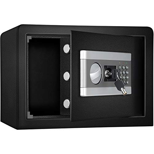 SEAAN 16,9 l Passwort-Safe, 0,8 Kubikmeter verdickte Stahlplatte Wichtige Gegenstände Aufbewahrung In-Wall-Passwort Geldkassettenknopf Notfallschlüssel-Safes für das Home Office