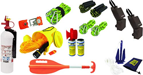 PWC Parts Ultimate Starter amp Safety Kit for All Personal Watercraft SeaDoo Yamaha Kawasaki Honda Polaris GTX GTI RXPX RXTX GTR EX Spark FX VX Cruiser Sport Deluxe Limited XLT GPR 1200 1300 800 XL