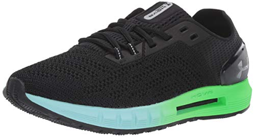 Under Armour Women's HOVR Sonic 2 Running Shoe, Black (001)/Neo Turquoise, 9