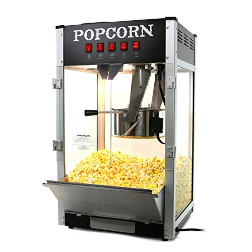 Why Choose Paramount 16oz Commercial Popcorn Maker Machine - 16 oz Kettle Popper [Black]