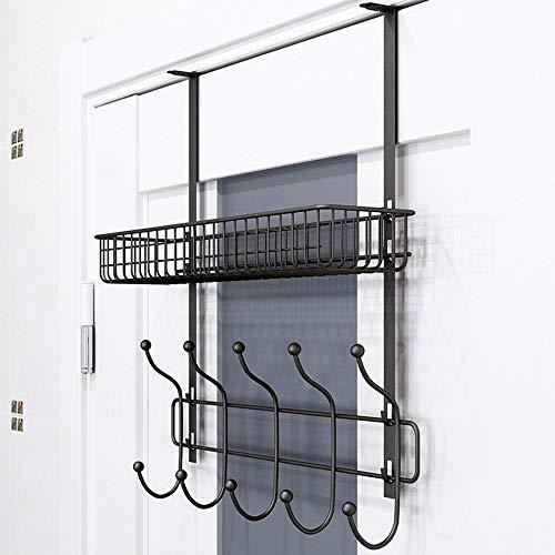 YLCJ Kleding hangers en hoeden IJzeren kunst Niet nodig om Wetsuits te perforeren op de muur Kan plaatsen objecten Hangers op de muur (Kleur: wit)
