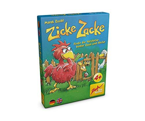 Zoch 601105102 Zicke Zacke, Kartenspiel