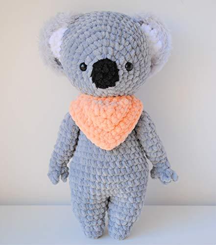 Koala peluche 30cm crochet main Amigurumi Marshmallow Toys