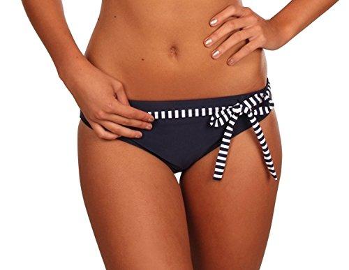 eleMar Frauen Bikini -Unterteil, Pazifik-Weiss, 44, 4-182-04