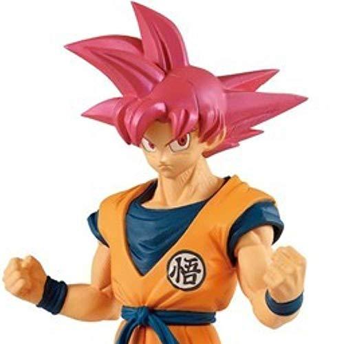 Banpresto Figura de Acción Dragon Ball Super - Cyokoku Buyuden - Super Saiyan God Son Goku