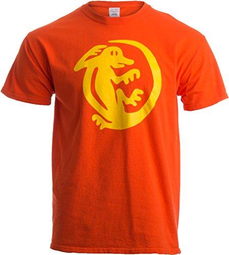 Legends of The Hidden Temple Tribute   90s Halloween Team Costume Unisex T-Shirt-L-Orange