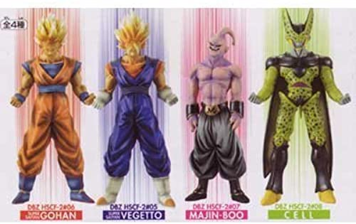 Dragon Ball Z High Spec Farbe Figure 2 Total set of 4 (japan import)