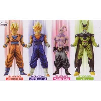 Dragon Ball Z High Spec Color Figure 2 Total set of 4 (japan import)