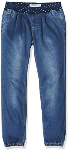 NAME IT Mädchen NMFBIBI DNMTORA 2304 Pant NOOS Jeans, Blau (Medium Blue Denim Medium Blue Denim), (Herstellergröße:104)