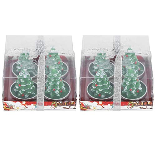 with Small Size Christmas Candles Ornaments for Party Gathering for Birthday