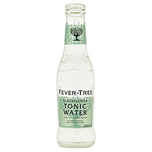 Fever-Tree-Holunder Tonic Water 200ml (Packung mit 24 x 200 ml)