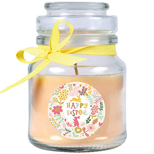 HS Candle Duftkerze im Glas - Ostern Creme - Bonbon 120gr (30h)