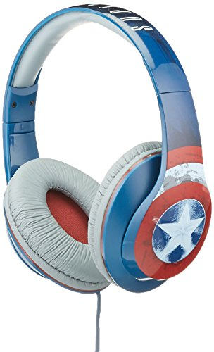 Price comparison product image Avengers Captain America Vi-M40CA.FX Over Ear Headphones with V Built-in Microphone