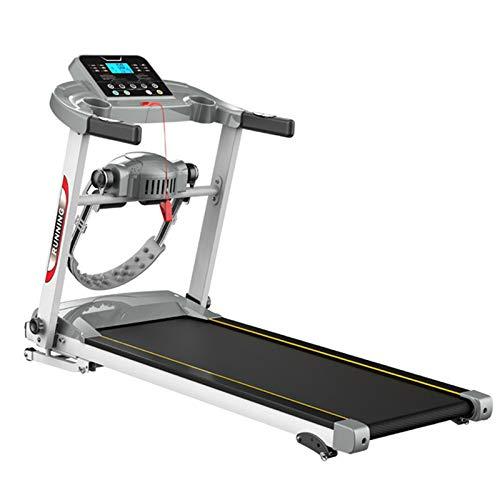 The Home Store Faltbares Laufband, Multifunktionales, 1,0 PS 0,8-12 km/h, Stufenlose Geschwindigkeitsregelung, 6 Sportarten, Maximale Tragfähigkeit 100 kg, Neigungsanpassung