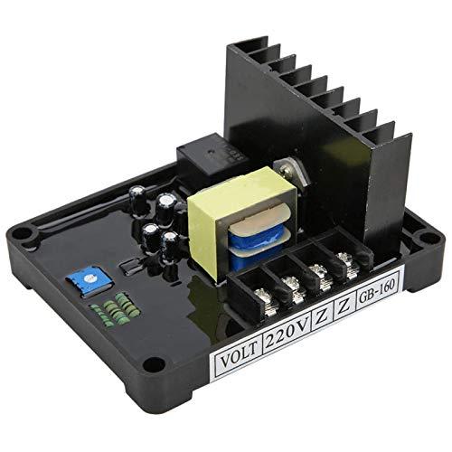 Eatbuy Regulador de Voltaje automático -GB160 AVR Regulador de Voltaje automático para alternador monofásico de Cepillo
