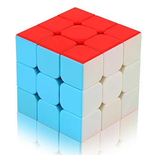 Parsion Zauberwürfel 3x3, Speed Cube 3x3x3 Magic Rubiks Cube Magische Original Speedcube Intelligenz IQ für Anfänger und Fortgeschrittene, Kinder Jugendlichen